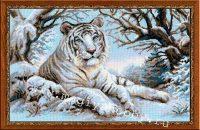 """набор для вышивания крестом """"Бенгальский тигр"""""""