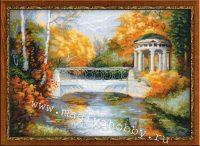 """вышивка крестом набор """"Осенний парк"""""""