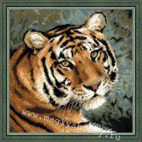 """набор для вышивания крестом """"Амурский тигр"""""""