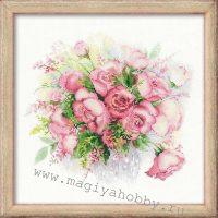 """вышивка крестом набор """"Акварельные розы"""""""