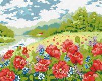 Раскраска по номерам  «Дыхание лета»