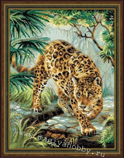 """набор для вышивания крестом """"Хозяин джунглей"""""""