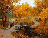 """рисование по номерам """"Осенний парк"""""""