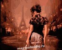 Раскраска по номерам «Вечер в Париже»