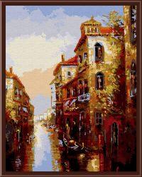 "рисование по номерам ""Канал в Венеции"""