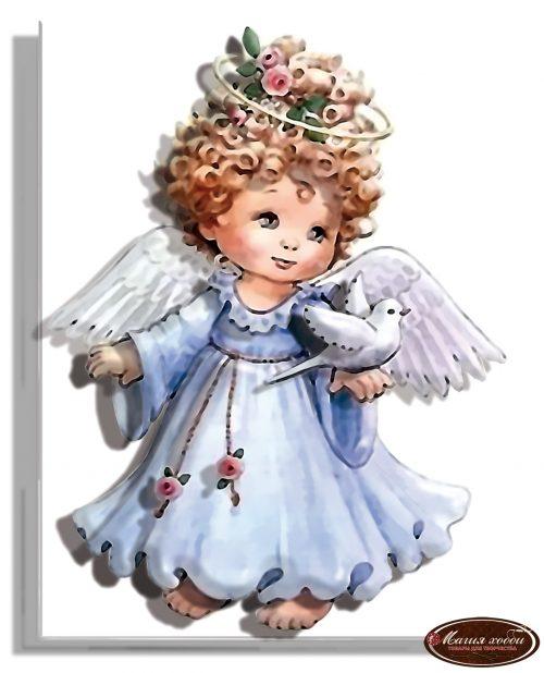 Ангел в голубом