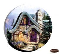Домик миниатюра круг