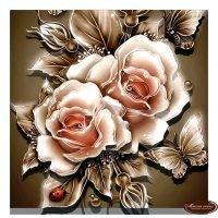 Карамельные розы