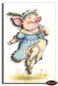 Мадам Пиги винтаж