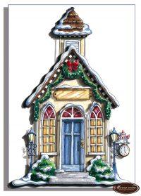 Сказочный уютный домик