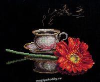 """вышивка крестом набор  """"Кофе для неё"""""""