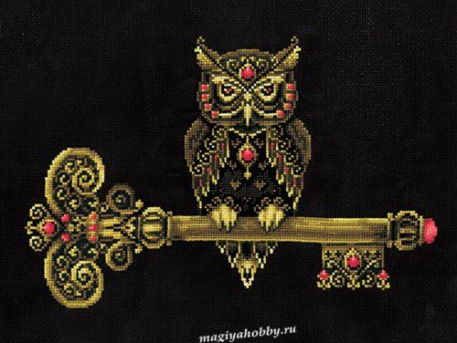 """вышивка крестом набор  """"Ключ мудрости"""""""