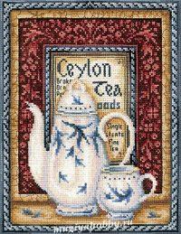 """вышивка крестом набор  """"Коллекция чая. Оранж Пеко"""""""