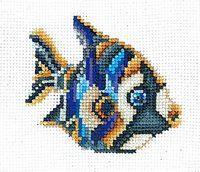 """вышивка крестом набор  """"Статуэтки.Рыбка"""""""