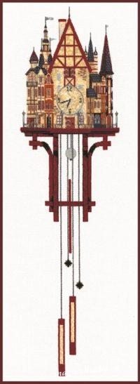 """вышивка крестом набор  """"Волшебные часы"""""""