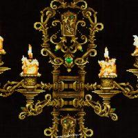 """вышивка крестом набор  """"Вечер при свечах"""""""
